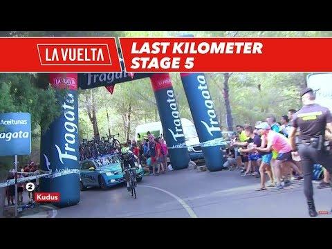 Last kilometer - Stage 5 - La Vuelta 2017