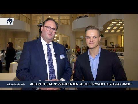 Luxus pur: Präsidentensuite kostet 26.000 Euro pro Nacht im Adlon