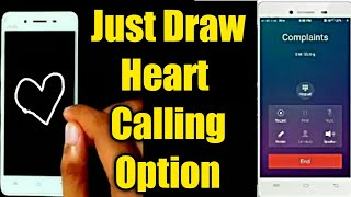 Just Draw Calling option Vivo mobile Gestures | Android tips