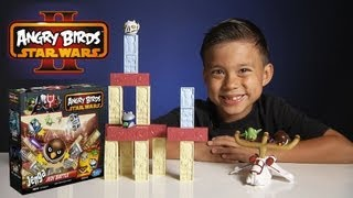 "Jenga JEDI BATTLE GAME - Angry Birds STAR WARS II - Toys ""R"" Us Exclusive!"
