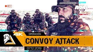 OPERACIÓN CONVOY ATTACK - ARMA3 4K US SOCOM - SQUAD ALPHA - DIABLO HELMETCAM