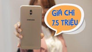 Mở hộp Samsung Galaxy J7 Plus: tầm trung, có xoá phông