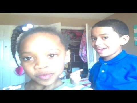 Marcus and Jaylah are vloging
