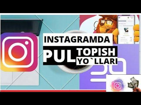 Instagramda Hattoki 100 Ta Obunachi Bo'lsa Ham Pul Ishlasa Bo'ladi Ssilka Pastda👇👇👇