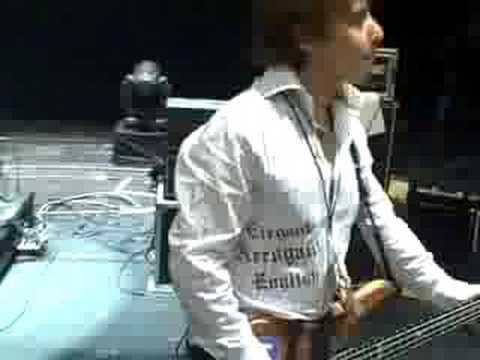 Budokan Cyndi Lauper Sound Check Merendino Wittman