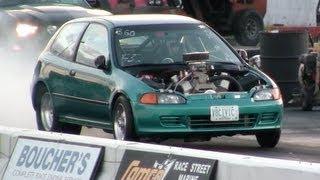 10 Second V8 Powered Honda Civic Hatch thumbnail