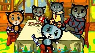 Считалочки - Караоке | Песенки для котят - Да, папа! | Три котенка