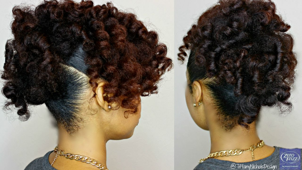curly hair styles with braids hair heatless curly updo feat zero frizz 2907