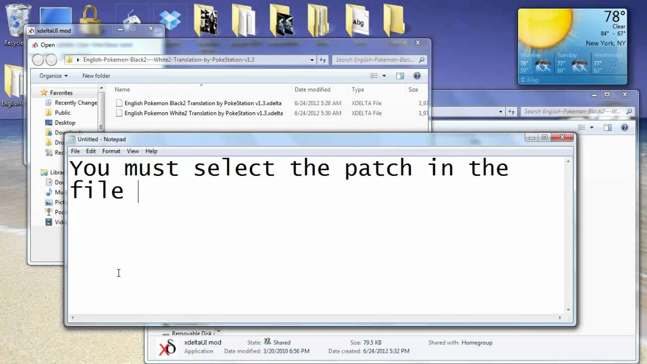 How to get pokemon black and white 2 roms(japan)(exp patch)(v2. 1.