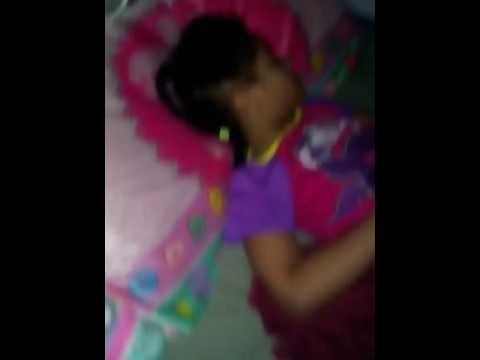 Caught my sister sleeping