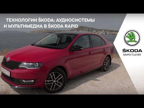 Аудиосистемы и мультимедиа в ŠKODA RAPID: Smartlink