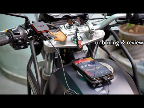 Bolt charger for riders & tracking device unboxing & my opinion must watch
