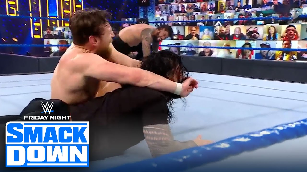 Daniel Bryan faces Jey Uso for a chance at Roman Reigns' Universal Title | FRIDAY NIGHT SMACKDOWN