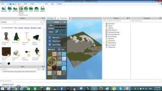 How To Change Terrain In ROBLOX Studio | 2016