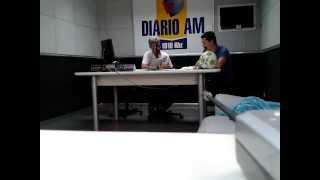 Participação ao Vivo na Radio Diário em Prudente  - 02/06/2012