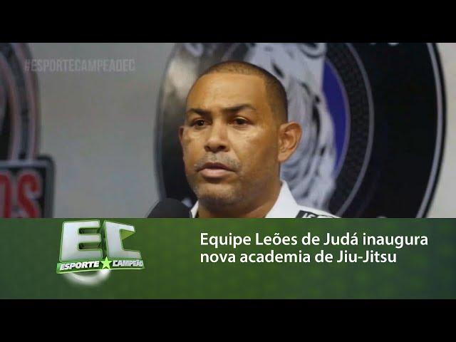 Equipe Leões de Judá inaugura nova academia de Jiu-Jitsu