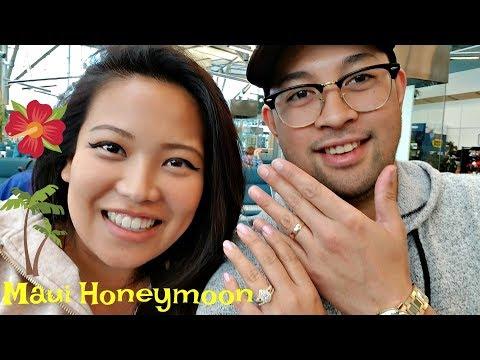 We're Married!!!   Maui Honeymoon  - Vancouver, Canada (YVR) To Kahului, Maui (OGG)