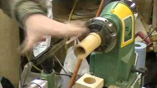 Turning A Napkin Ring