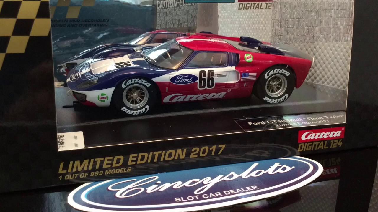 Carrera Digital 124 23848 Ford GT40 MKII Time Twist