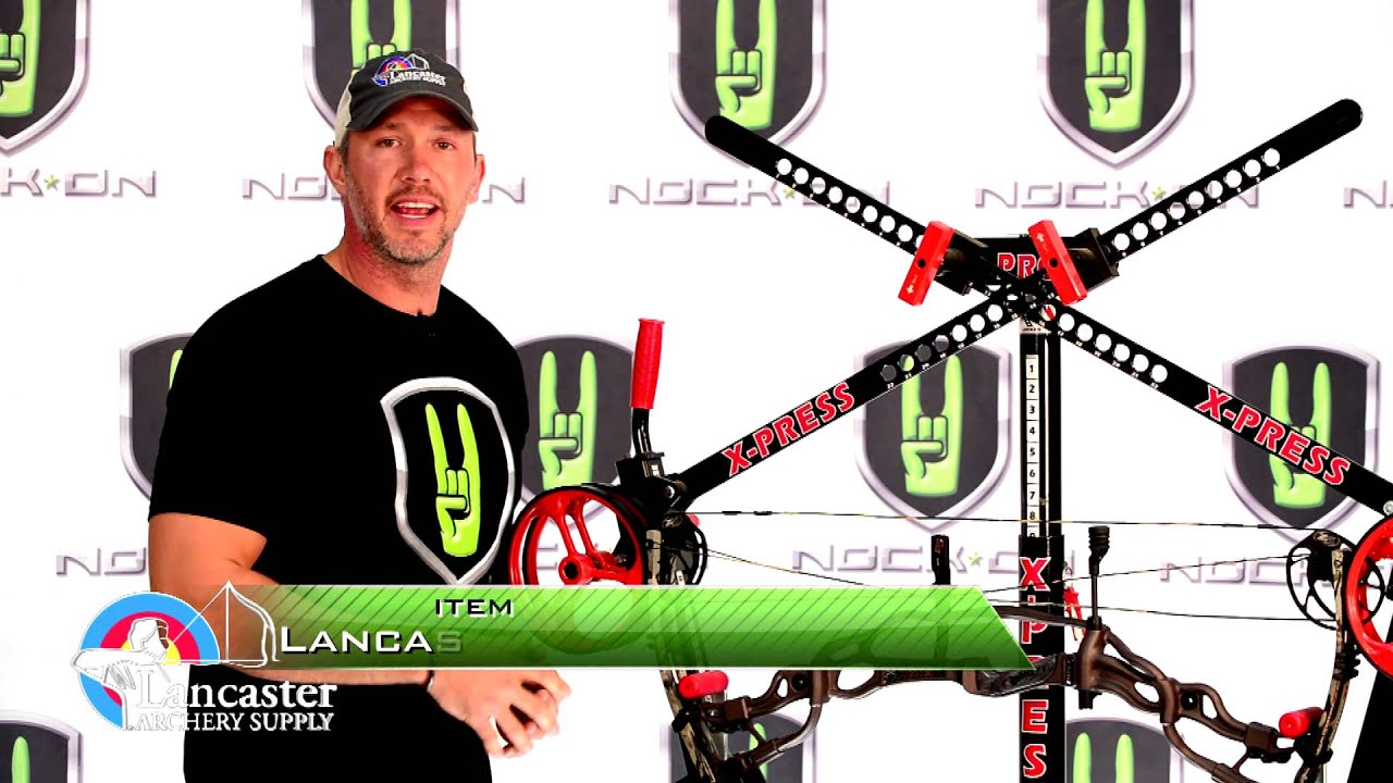 NRTR 1 - How to Use a Bow Press