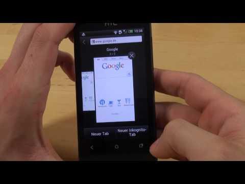 HTC One V - Internet - Teil 3