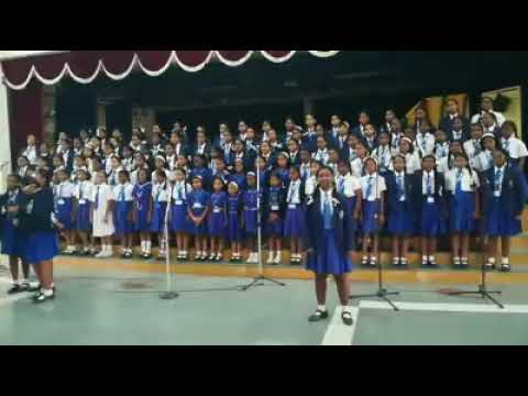 Imagine Dragons - Believer (Cover version) Kid's choir from India , Charles school Bangalore