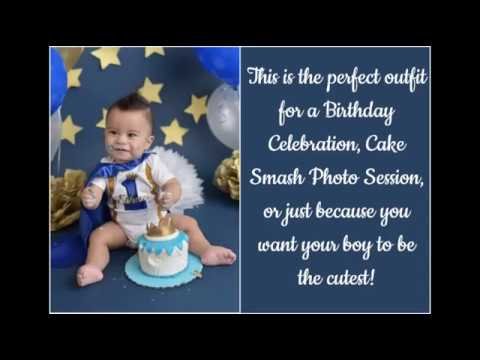Adorable 1st Birthday Cake Smash Outfits For Boys