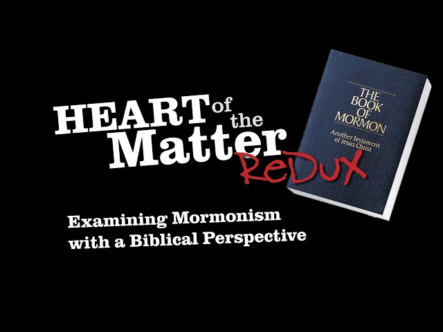 Going back to Mormonism - August 2019