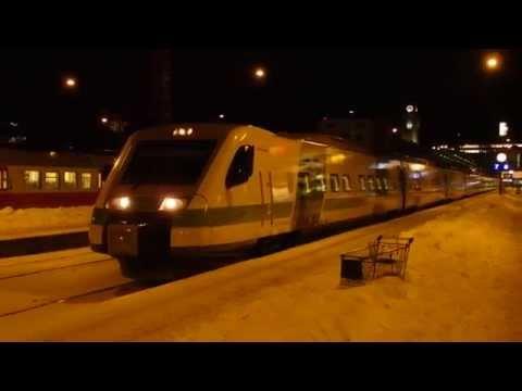 VR-Yhtymä Pendolino Helsingin päärautatieasema