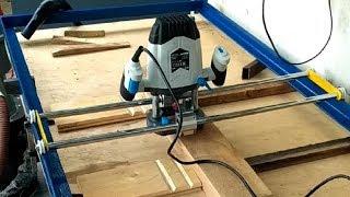 Рейсмусовая рама для фрезера своими руками, многофункциональный фрезерный стол