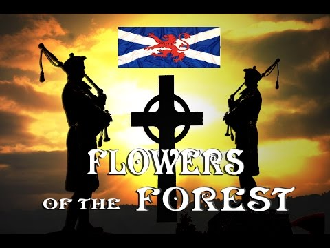 [ FLOWER OF THE FOREST ~ SCOTS GUARDS ~ BAGPIPES  ]