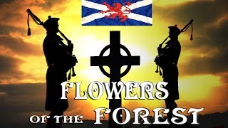 SCOTS GUARDS - Bagpipes - Flowers Of The Forest.