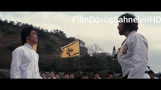 Bruce Lee VS Robert Wall Ejder Kalesi Dövüş Sahnesi HD