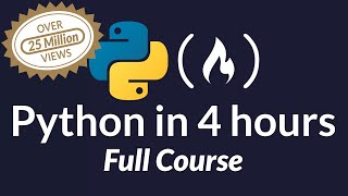 Learn Python - Full Course for Beginners [Tutorial] thumbnail