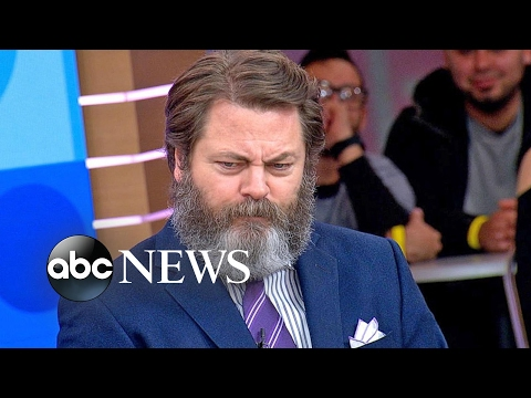 Nick Offerman Interview on 'The Founder'