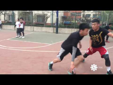 CHINA STREET BALL STAR- ISO赵强 CAMPUS TOUR DRIBBLE VIDEO SHOTED BY IPHONE 5s -DRIBBLELIFE