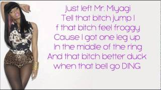 Nicki Minaj - Envy LYRICS