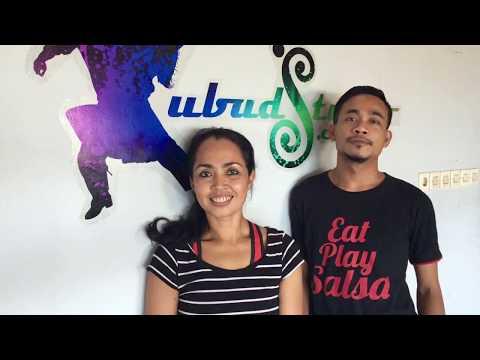 Bali 2017 - Afro-Latin Dance Holidays - Agung and Nia (Salsa/Bachata/body isolations&movements)