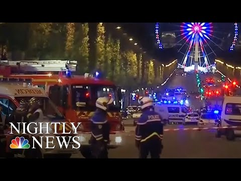 Paris Attack: 1 Officer Killed, 2 Injured On Champs-Elysees | NBC Nightly News