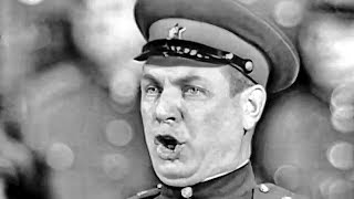 """""""The people glorify the party"""" - Konstantin Gerasimov and the Alexandrov Red Army Choir (1962)"""