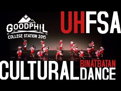UH FSA Cultural Dance (Binatbatan) // GOODPHIL 2015