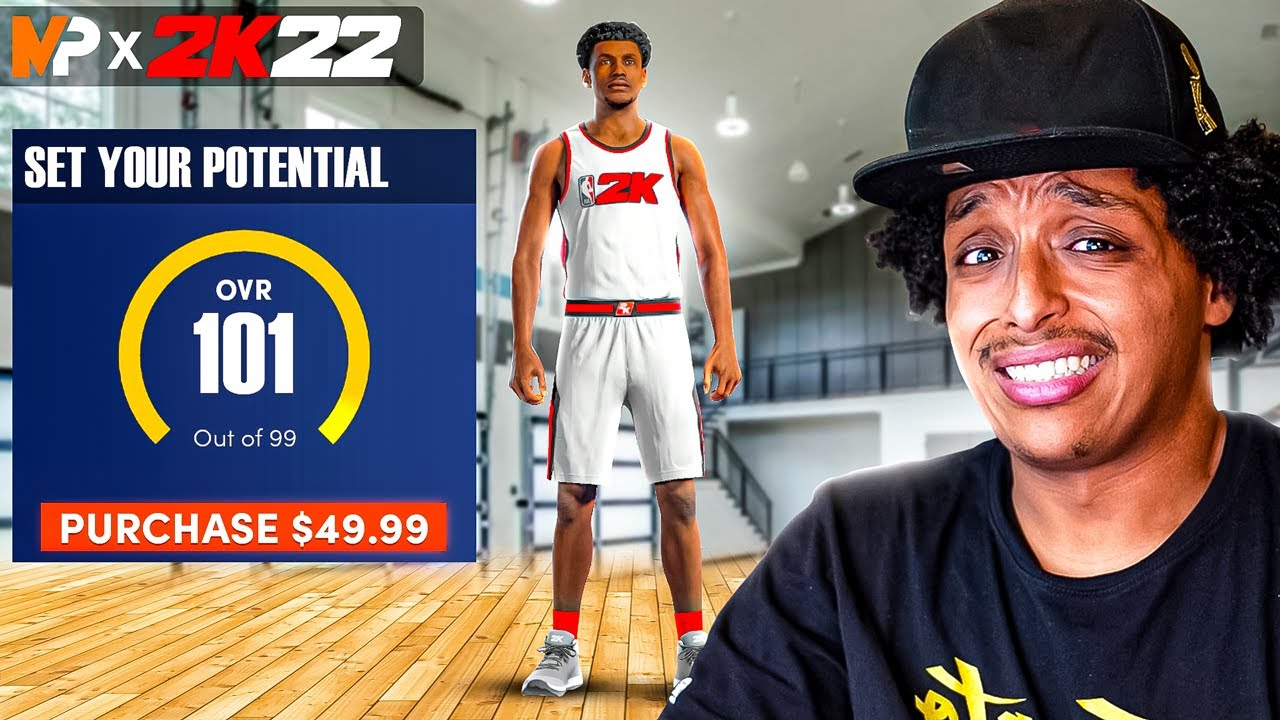 Download YOU CAN BE A 101 OVERALL IN 2K22 IF YOU PAY FOR IT