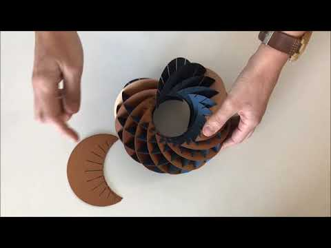 How to make a torus 3D (Sliceforms)