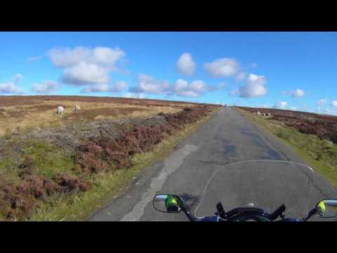 Yorkshire Moors Video Guide - Stage 2 MotorBike Friendly Guide Places Self Guided MotorBike Tour