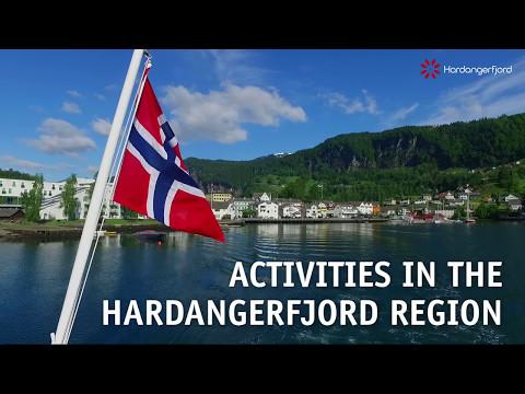 Activities in the Hardangerfjord region