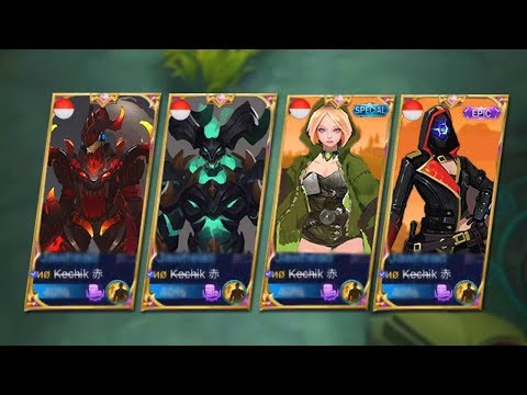 NEW EPIC HEROES & NEW SKINS! Mobile Legends