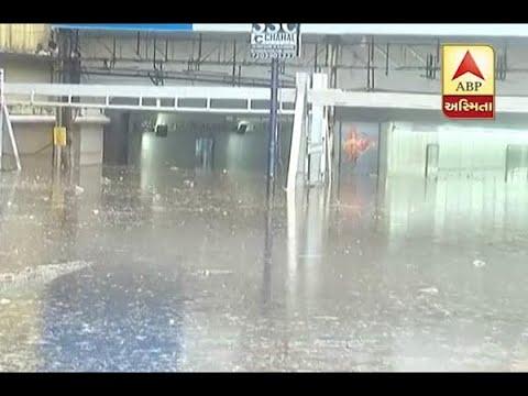 Vadodara Heavy Rain : Alkapuri Underpass Block