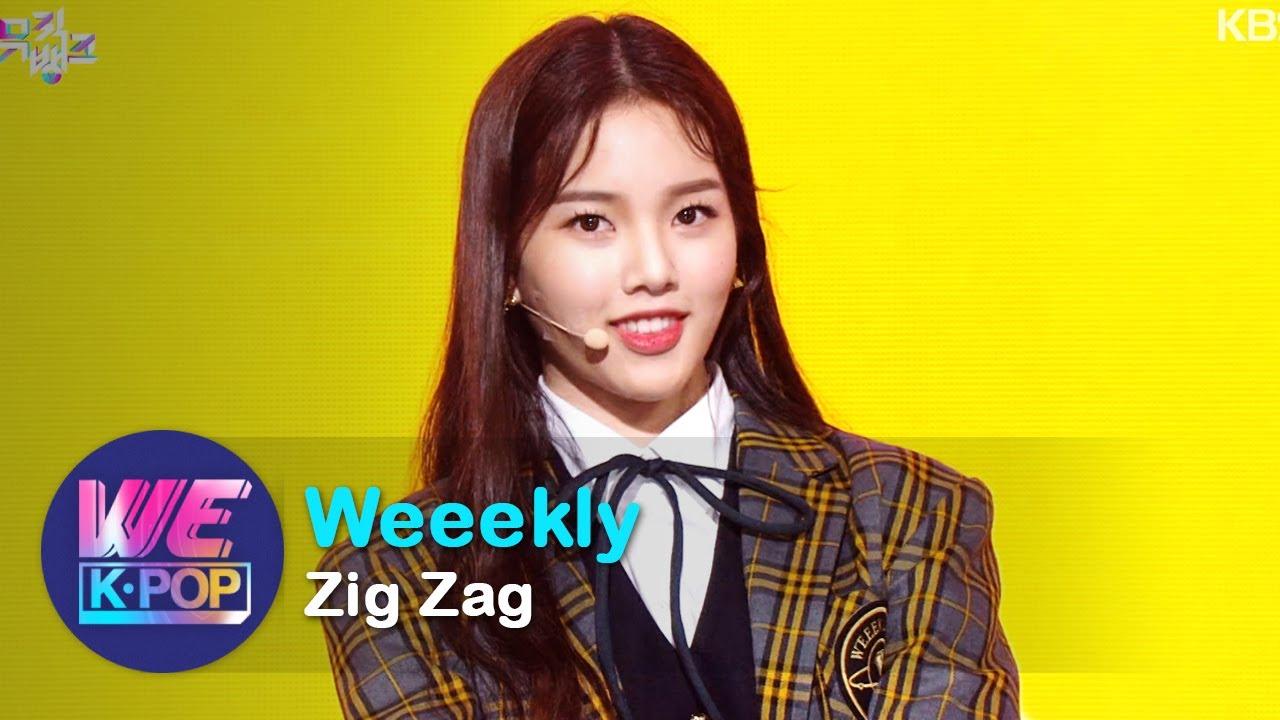Weeekly(위클리) - Zig Zag [Music Bank / 2020.10.16]