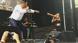 Willow Smith Brings Out Her Dad Will Smith And Performs Summertime At Roots Picnic Philly