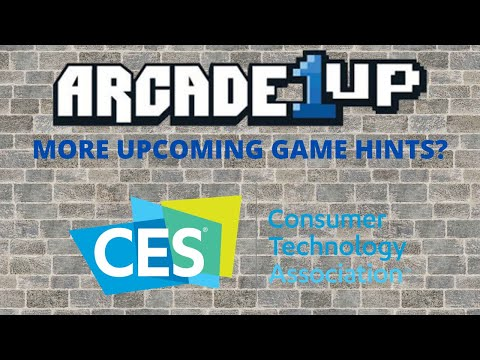Arcade1up: More Cryptic Hints for CES2021 Titles from PsykoGamer
